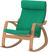 POANG Rocking-chair, beech veneer, Lysed bright green