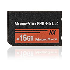 XZANTE 16GB Tarjeta de Memoria Ms Pro Duo HX Tarjeta Flash para PSP Cybershot Cámera