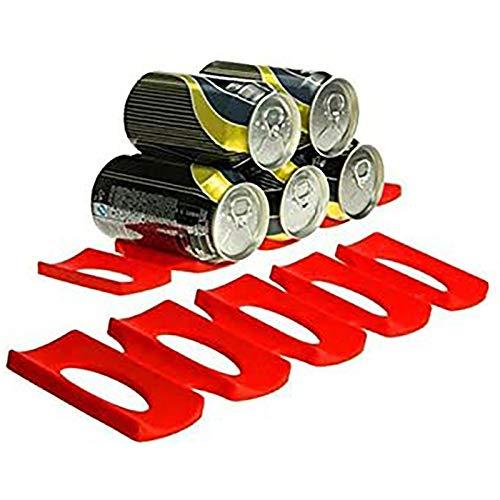 JIAHU Soporte de almacenamiento para nevera, alfombrilla para apilar botellas, herramienta de ordenamiento 1 pieza
