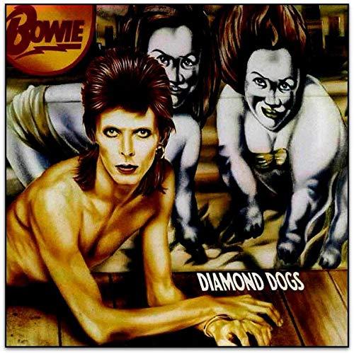 Diamond Dogs (Red Vinyl) [Vinilo]