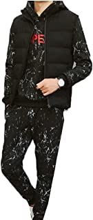 Maweisong Mens Athletic Tracksuit Full Zip Casual Jogging Gym Sweat Suits