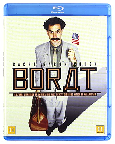 Borat: Cultural Learnings of America for Make Benefit Glorious Nation of Kazakhstan [Blu-Ray] [Region B] (Swedish subtitles)