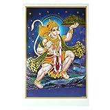 Bild Hanuman 92x62cm Hinduismus Hindugottheit Kunstdruck
