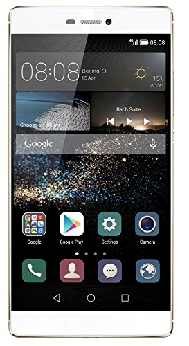 Huawei P8 Smartphone (5,2 Zoll (13,2 cm) Touch-Display, 16 GB Speicher, Android 5.0) ,Mystic Champagne