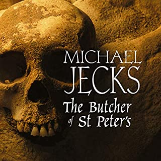 The Butcher of St Peter's                   By:                                                                                                                                 Michael Jecks                               Narrated by:                                                                                                                                 Michael Tudor Barnes                      Length: 12 hrs and 41 mins     3 ratings     Overall 4.0
