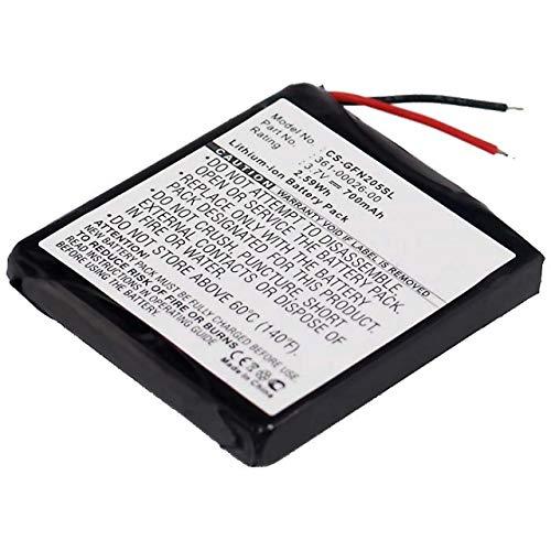Powery Batería para Garmin Forerunner 305