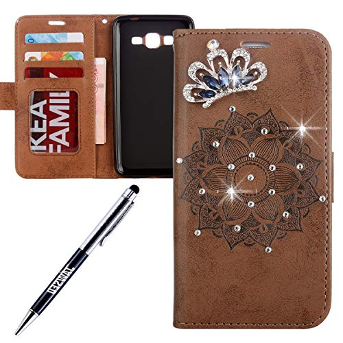 Flip Case Flower Butterfly Pattern PU Leather Stand Holder Card Cash Slots Magnetic Closure Flip Cover Phone case for Samsung Galaxy J5 ,Rose Red Butterfly 2016 2016 Surakey Galaxy J5 Case