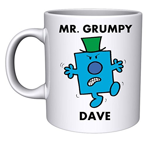SMB Novelties Personalised Mr Grumpy Mug D2