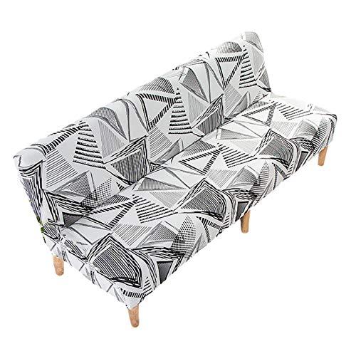 miraculocy Sin Protector de sofá Impreso con reposabrazos, Cubierta de sofá de sofá Duradero y fácil de Limpiar, Cubierta de sofá de Tramo