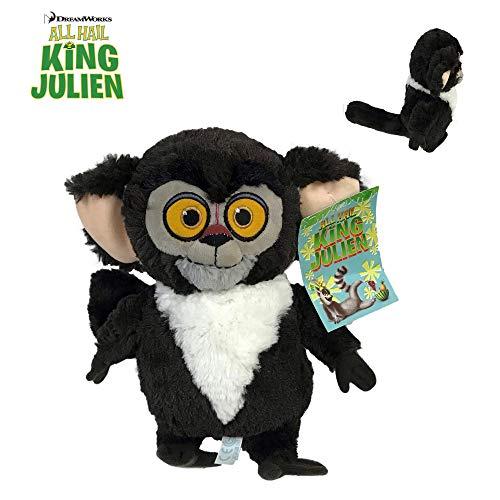 MDGSCAR King Julien - Plüsch Lemuren Aye-Aye Maurice 10'62