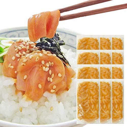 お中元 ギフト イカの塩辛60g×12袋 *14時までのご注文 ヤマキ食品 イカ屋荘三郎