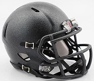 New Riddell Ohio State 2016 Flat Canon Gray Alternate Speed Mini Football Helmet