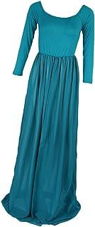 Flameer 妊娠中 記念写真撮り用 マタニティ 妖精のドレス ワンピース ロングスカート 長袖 快適 弾力性 全5色
