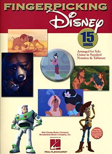 Fingerpicking Disney (Guitar Book): Songbook, Tabulatur für Gitarre (Notation & Tablature)