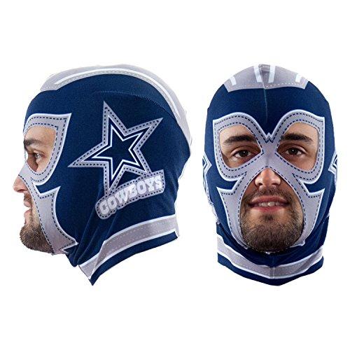 Littlearth NFL Dallas Cowboys Fan Mask, Blue, One Size