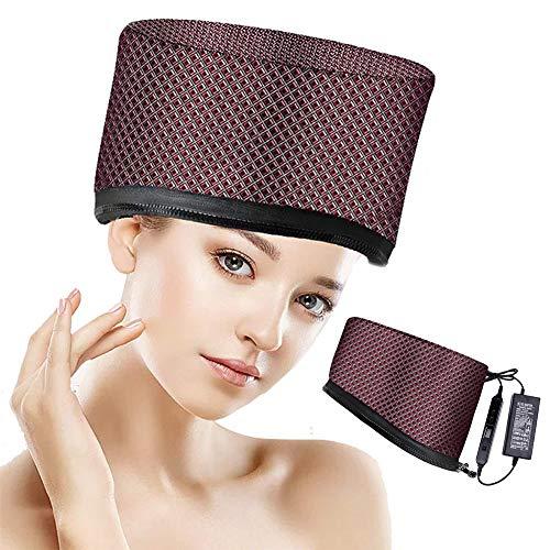 YWJH Chapeau de Vapeur de Cheveux, Bonnet Nourrissant Beauté Steamer, Ce Chapeau Est Parfait pour Les Soins Personnels À La Maison, pour Les Soins personnels de la Famille