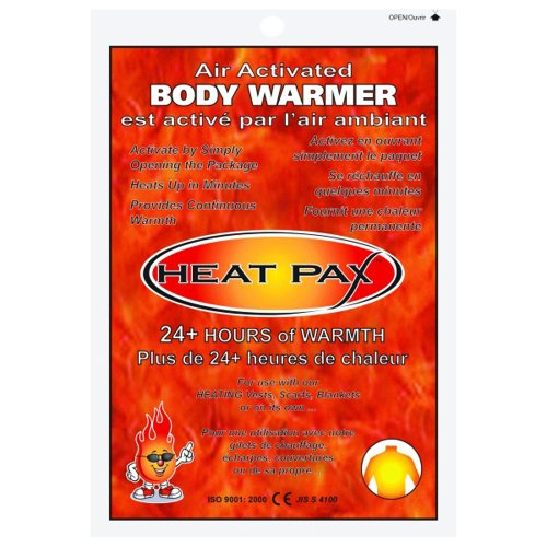HEAT PAX 24+ HOUR BODY WARMERS - 10 PIECE PACK
