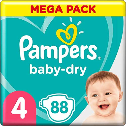 Pampers 81715584 Baby-Dry Pants windeln, weiß