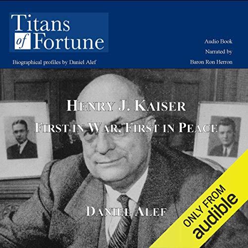 Henry J. Kaiser copertina