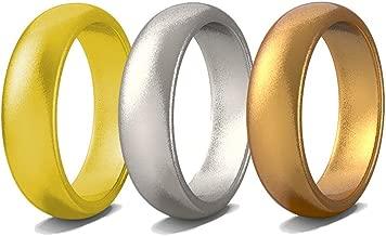 Rubberbanditz Silicone Wedding Rings | Comfortable, Stylish, Exercise Thin Bands