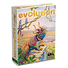 AWARD-WINNING: Evolution is the multi-award winning stand-alone game packed with a surprising amount of variety for a game with simple rules. ADAPT YOUR SPECIES: food is scarce and predators roam. So thematic, Evolution is used to teach evolutionary ...