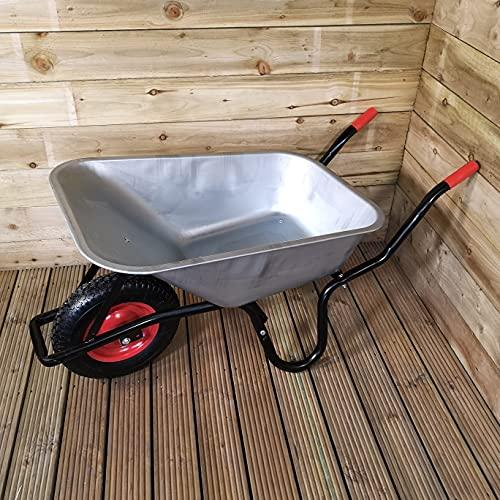Samuel ALEXANDER 90 Litre 150kg Capacity Galvanised Metal Outdoor Garden...