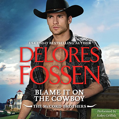 Blame It on the Cowboy audiobook cover art