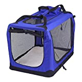 AVC Portable Soft Fabric <span class='highlight'>Pet</span> <span class='highlight'>Carrier</span> Folding Dog Cat Puppy Travel Transport Bag (Extra Large, Blue)