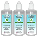 Triple Pack - 3x 100ml Menthol E <span class='highlight'>Liquid</span> 80/20 Cloud Chaser Vape Juice 0mg eJuice E <span class='highlight'>Cigarette</span> Ecig (Nimbus E <span class='highlight'>Liquid</span>)