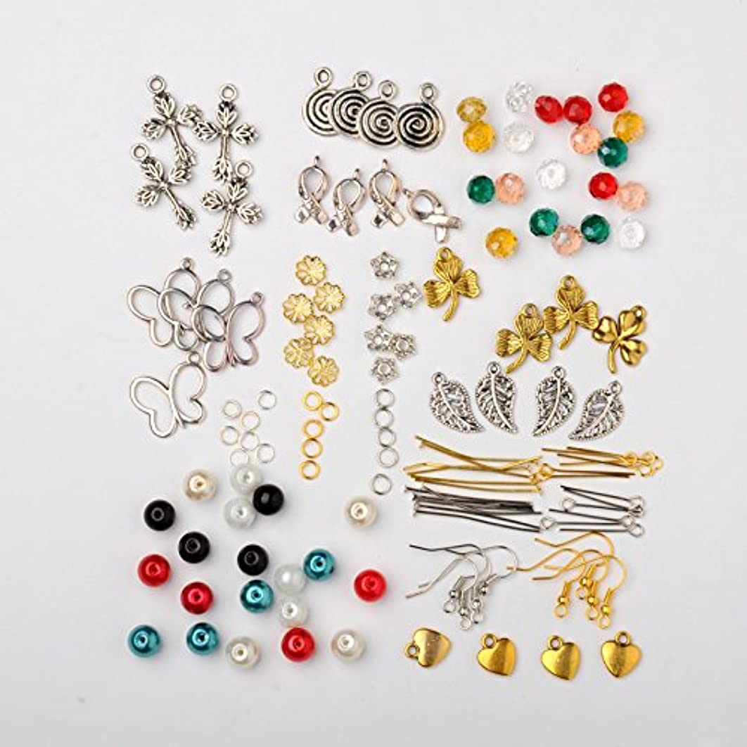 PEPPERLONELY Brand Charms Beads Findings Essential Earring Making Set