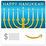 Amazon eGift Card - Hanukkah Menorah