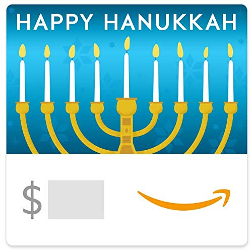 Amazon eGift Card - Hanukkah Menorah