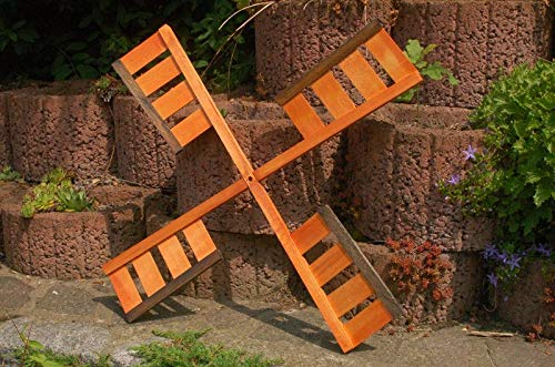 Deko-Shop-Hannusch Flügel Windrad Mühlenrad in verschiedenen Längen 67 cm, 92 cm oder 100 cm aus Holz, vollständig behandelt, Windmühle, Ersatzteile, Spannweite:67 cm
