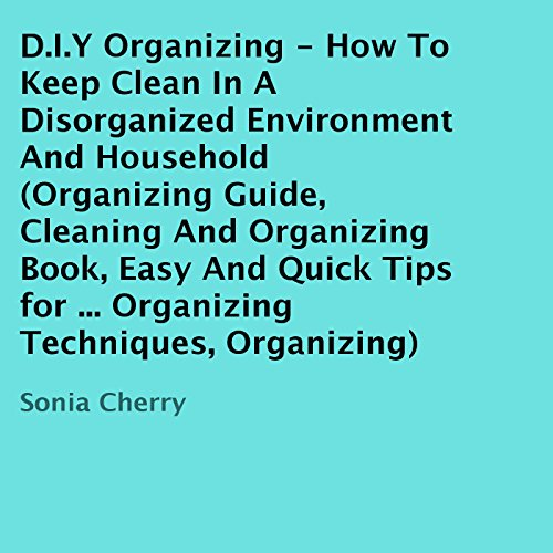 D.I.Y Organizing audiobook cover art
