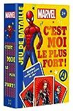 Marvel - Jeux de Cartes - C'est Moi Le Plus Fort ! - Jeu de Bataille