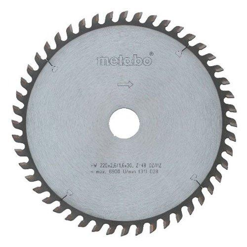 Metabo dsd9250 - Hoja sierra metal duro hw-ct precisión 230x30 56wz