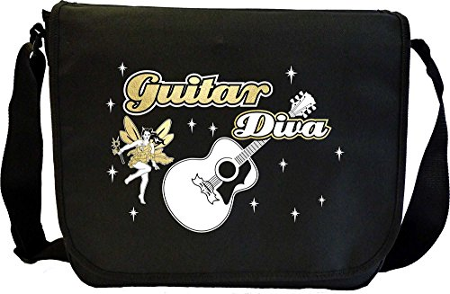 Musicalitee Acoustic Guitar Diva Fairee - Sheet Music Document Bag Musik Notentasche