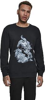 Mister Tee Men's Tupac Smoke Crewneck Sweatshirt