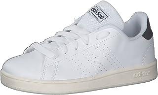 Adidas Unisex's Advantage K Tennis Shoes, Ftwr White Legend Ink Cloud White, 38 EU