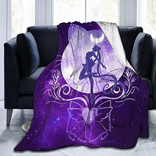 coperta divano morbida Coperta Morbida in Micro Pile per Divano Letto Coperta Calda in Peluche Adatta per Tutte le Stagioni 150x130 cm