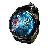 Anime Dragon Ball ZLED Reloj de Pantalla táctil Impermeable Luminoso Reloj Digital Unisex Cosplay Regalo Nuevo Reloj niños Regalo-C