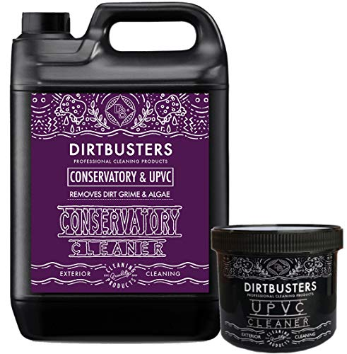 Dirtbusters uPVC PVCu cleaner restorer and conservatory cleaner door window frame conservatory garden furniture cleaner.