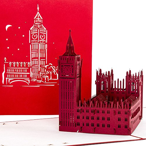3D Pop Up Karte London -