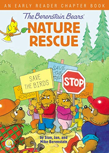 The Berenstain Bears' Nature Rescue: An Early Reader Chapter Book (Berenstain Bears/Living Lights: A Faith Story) (English Edition)