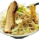 濃厚二郎系ラーメン(8食)(厚切りチャーシュー8枚付)極太オーション麺・濃厚背脂スープ(冷凍)