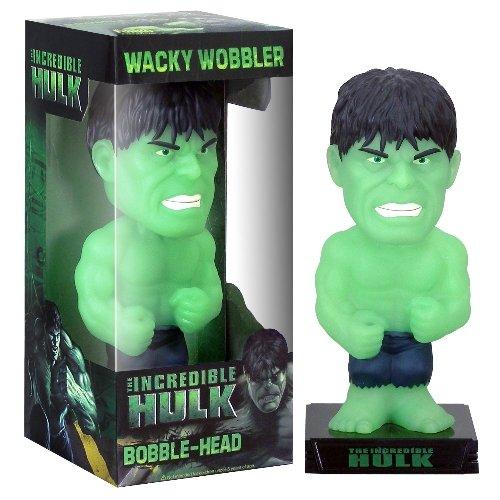 Hulk `Glowing-in-The-Dark´ Exklusive Variante PVC 16cm Wackelkopf