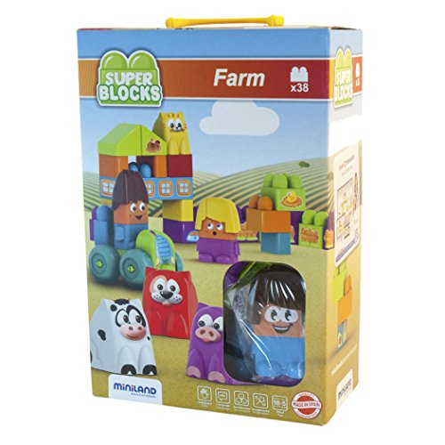 Miniland Super Blocks Farm 32339