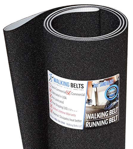 WALKINGBELTS Walking Belts LLC - Horizon T101-03 TM659 (2012) Treadmill Running Belt 2ply Sand Blast + Free 1oz Lube