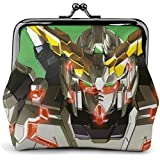 Cool Gundam 機動戦士ガンダム 成人 子供が 男性女性 レザー 小銭入れ コインケース 財布 男の子と女の子 財布 ファスナー ヴィンテージ ギフト 本革 Coin Purse
