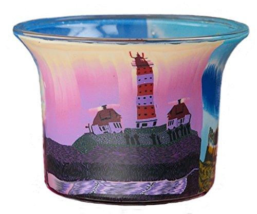 Himmlische Düfte Geschenkartikel GmbH Teelichtglas Leuchtturm 1